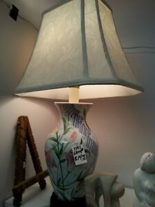 Thrift store lamps in stock
