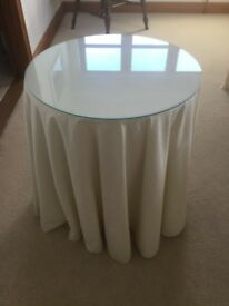 Round Chipboard Occassional Table