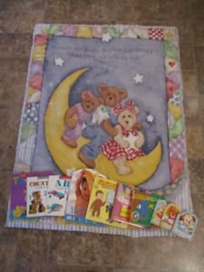 Baby Blanket & Books