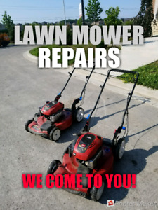 Mobile Lawn Mower Repair • ON-SITE • Lawnmower mover