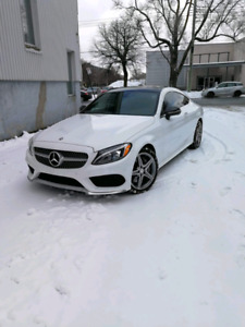 lease transfer 2017 C300 Coupe fully loaded