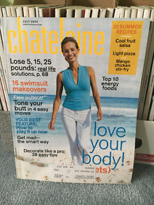Chatelaine Magazines Nov 2001 to March 2005