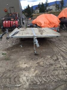 Two double sled trailers for sale in Invermere