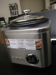 Cuisinart 4-Cup Rice Cooker, Model: CRC-400C