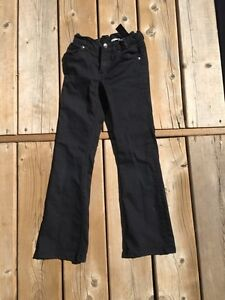 Black Cotton Pants size 7/8