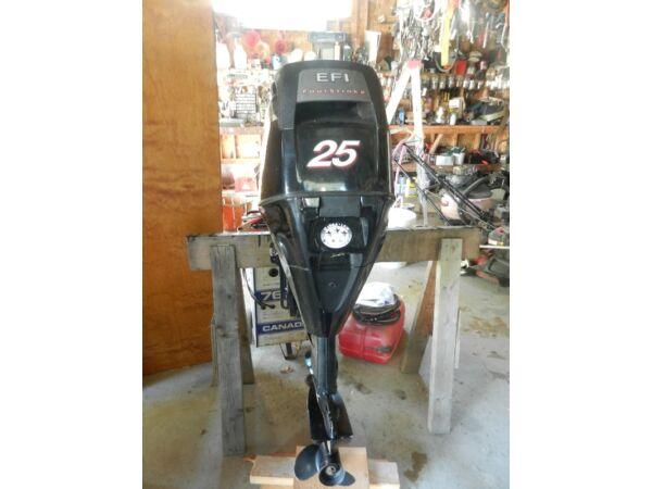 Used 2009 Mercury 25 HP
