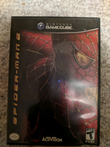 Spiderman 2 gamecube game for sale