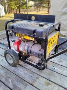 Megaforce 6500 Watt Contractor Generator - 11 hours