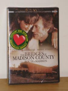 DVD NEUF  Sur la route de Madison–The Bridges of Madison....