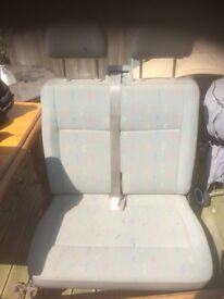 VW T5 double front seat