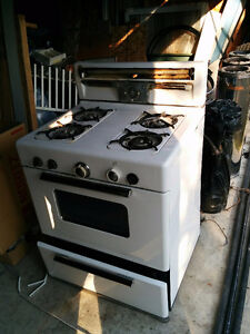 30 inch Propane stove with oven