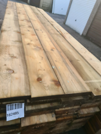 Timber scaffolding boards