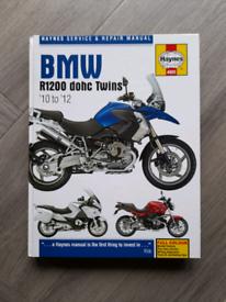 Haynes Manual BMW R1200 DOHC Twins 10 to 12