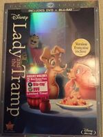 Lady and the Tramp Bluray