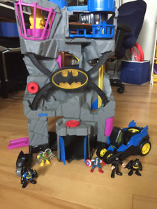 Batman Cave and toys