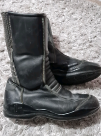 Size 5 ladies motorbike boots motorcycle