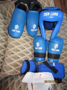 Child's Taekwon Do Sparring Gear XS-Med