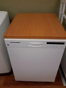 *** USED *** GE APPLIANCES SS TALL TUB PORTABLE DISH   S/N:GD802455C   #STORE616