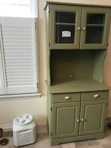 display kitchen cabinet?