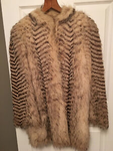 REAL Feathered Badger jacket $200 OBO