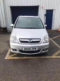 Vauxhall Meriva 1.6 petrol 59 plate Design