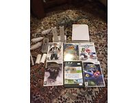 Nintendo wii with all accessories and games