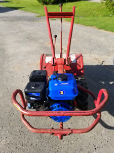 PRICE REDUCED Troy Bilt Horse TH1003 Rototiller With New Engine