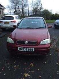 2000 reg Vauxhall Astra 1.4l 16v petrol