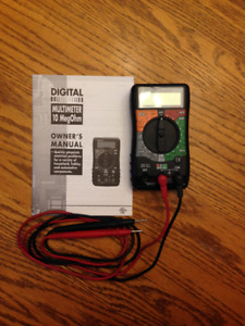 like new multimeter & wire tracer