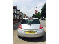 2006 Renault Megan 1.6 petrol one owner from new.