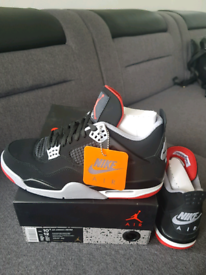 0264071ce980 Air Jordan 4 Retro BRED UK9.5
