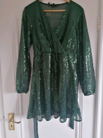 New Lipsy Green Dress