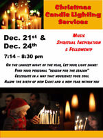 Christmas Candle Lighting Services