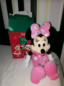 Brand new with box. Disney Store Minnie Mouse.