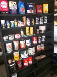VINTAGE PETRO OIL CAN COLLECTION Windsor Region Ontario image 6