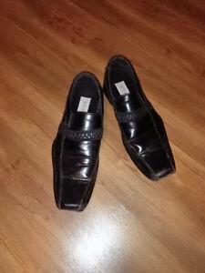 Bravo Men Blk leather shoe sz 9.5 price of $18