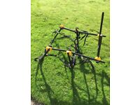 Fold up Halfords bicycle carrier for Cars