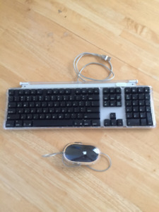 Apple Pro Keyboard and Pro Mouse