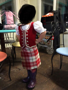 Highland Dance outfit for 5-8 year old