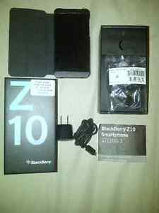 Z10 Blackberry - black with red case