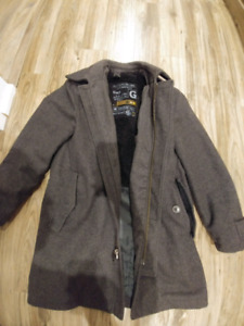 100% Wool Men's Coat