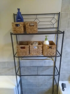 2 Piece Bathroom Organizer Set