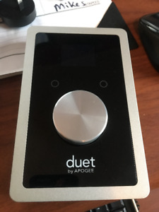 Apogee Duet for Iphone, Ipad and Mac