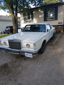 1981 Mark 6 Continential Lincoln