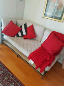 Ikea sofa bed & Matching chairs