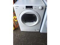 New Graded Candy 9kg Sensor Condenser Tumble Dryer - White