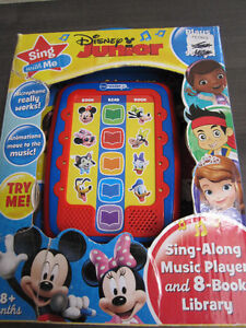 Disney Junior Sing-Along Music Player, NEW