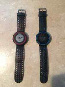 Garmin watch Forerunner 220 & Forerunner 620