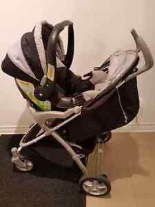 Eddie bauer car seat, stroller and base West Island Greater Montréal image 1