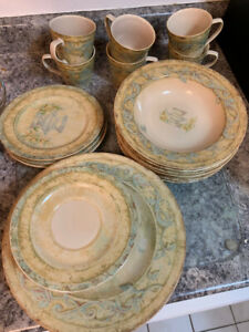 222 Fifth Complete Dish set Excellent condition $20